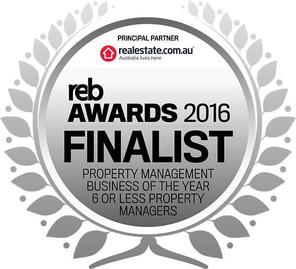 FINALIST 2016 19 Property Management Business of the year 6 or less Property Managers