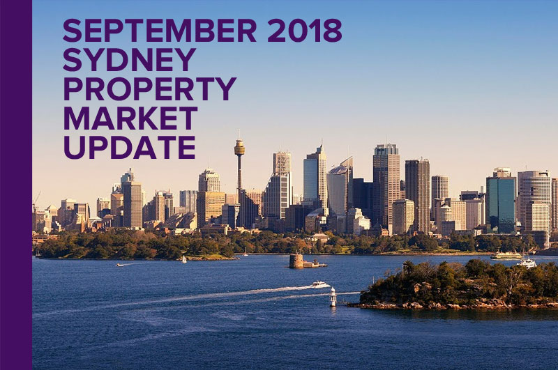 SYDNEY PROPERTY MARKET UPDATE – SEPTEMBER 2018